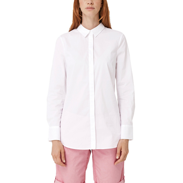 Bluse im cleanen Look - Popeline-Bluse