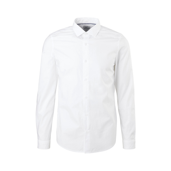 Slim Fit: Hemd aus Baumwolle - Hemd