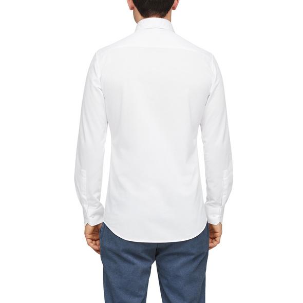 Slim Fit: Hemd aus Baumwolljersey - Hemd