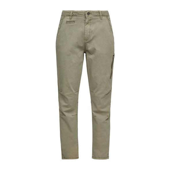 Regular Fit: Chino mit Zip-Detail - Chino