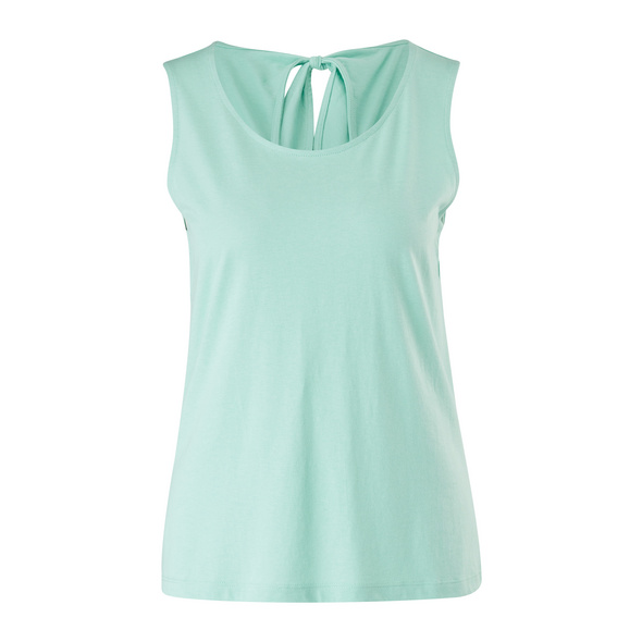 Top mit Cut Out - Jerseytop