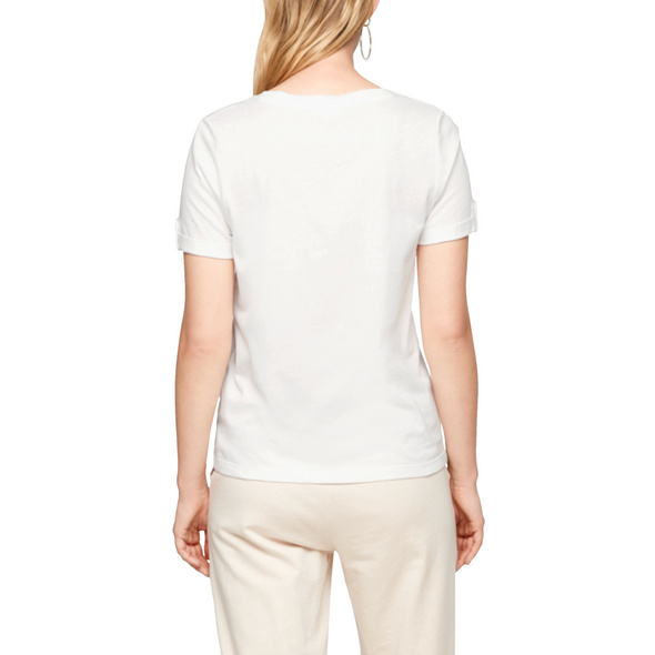 Jerseyshirt mit Brusttasche - T-Shirt