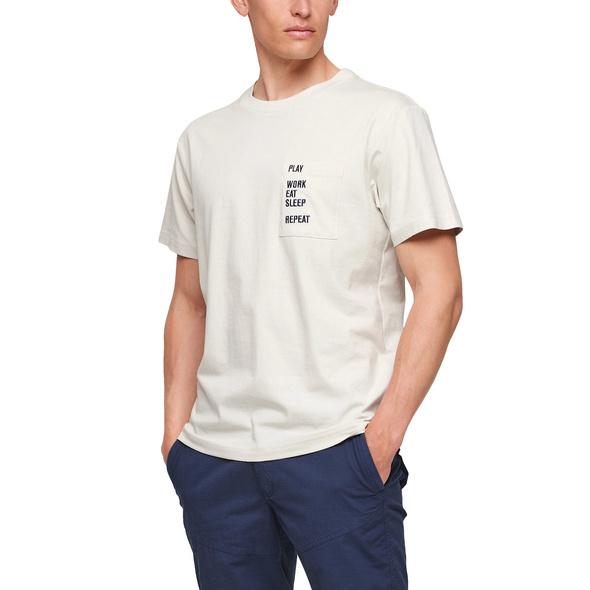Jerseyshirt mit Stickerei - Jerseyshirt