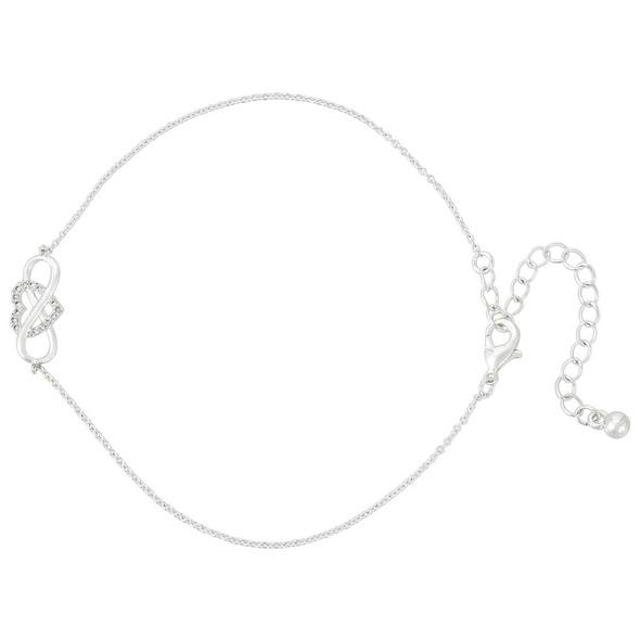 Armband mit Anhänger - Infinity Heart