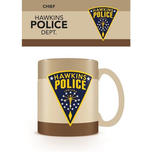 Stranger Things - Tasse Hawkins Polizei