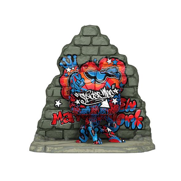 Marvel - POP! Vinyl - Figur Spider-Man Deluxe Street-Art