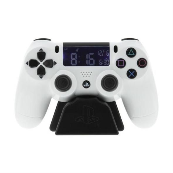 PlayStation - Wecker Controller weiß