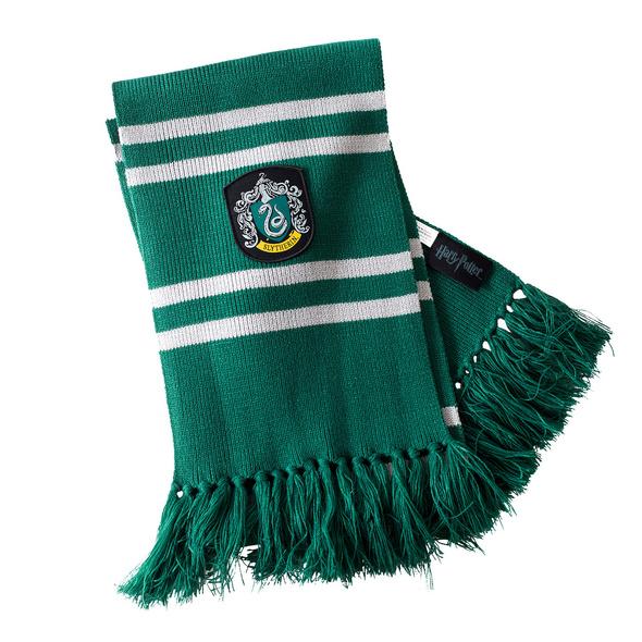 Harry Potter - Slytherin Strickschal grau-grün