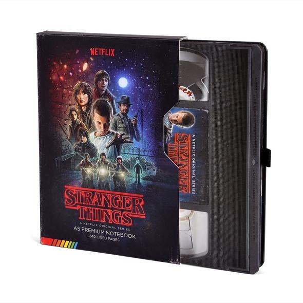 Stranger Things - VHS Premium Notizbuch A5