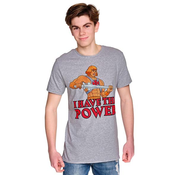 Masters of the Universe - He-Man Power T-Shirt grau