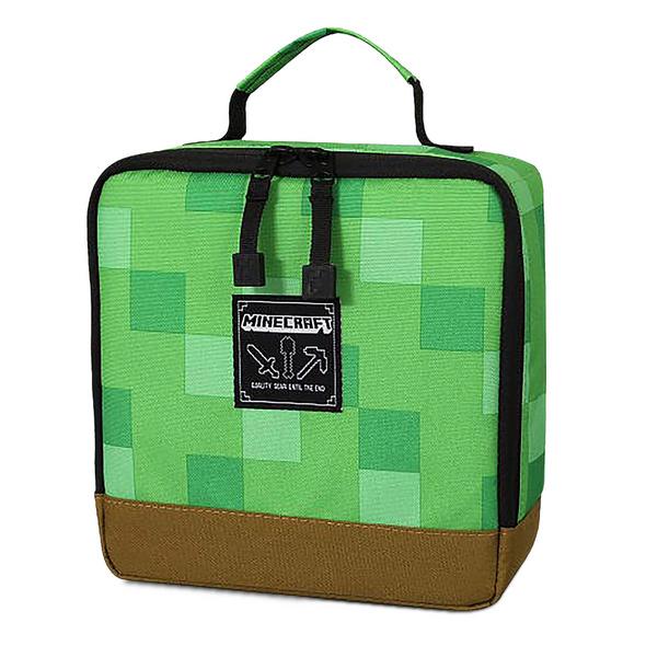 Minecraft - Pixel Block Lunchbox grün