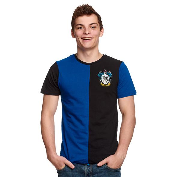 Harry Potter - Ravenclaw Tournament T-Shirt blau-schwarz