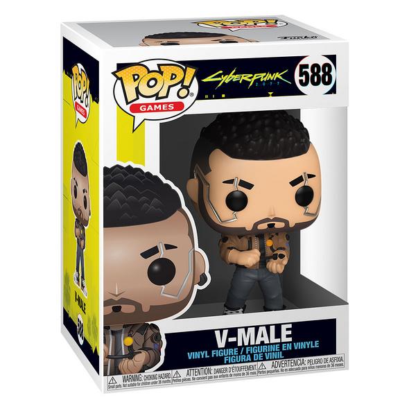 Cyberpunk 2077 - V-Male Funko Pop Figur