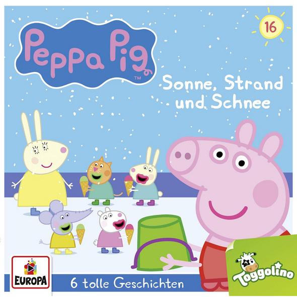 Peppa Pig Hörspiel 16. Sonne, Strand und Schnee  u