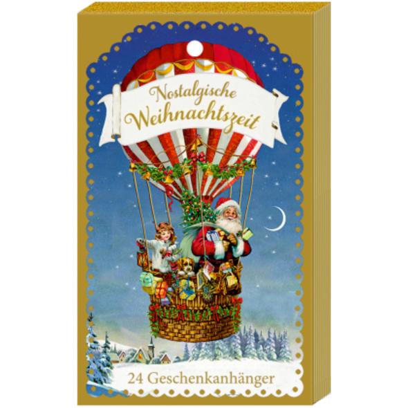 Geschenkanhänger-Blöckchen - Nostalgische Weihnach