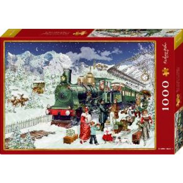 Boxpuzzle Nostalgische Eisenbahn  1000 Teile