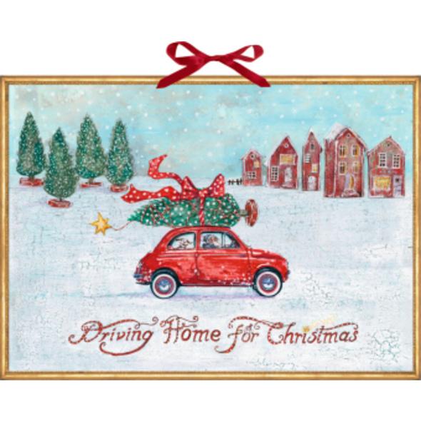 Wandkalender - Driving Home for Christmas