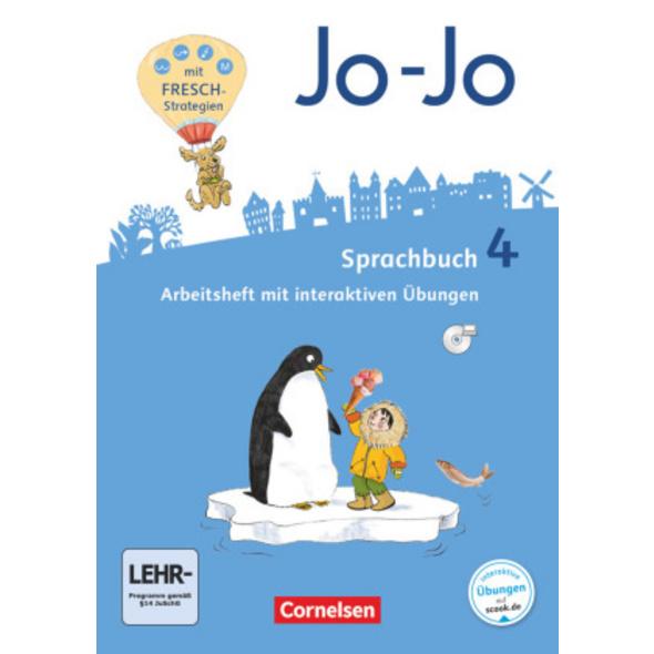 Jo-Jo Sprachbuch 4. Schuljahr - Allgemeine Ausgabe