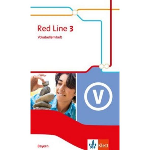 Red Line 3. Vokabellernheft Klasse 7. Ausgabe Baye