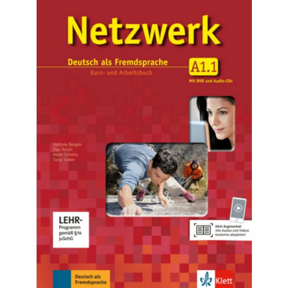 Netzwerk A1 in Teilbänden - Kurs- und Arbeitsbuch,