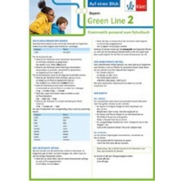 Green Line 2 Bayern Klasse 6 - Auf einen Blick. Gr