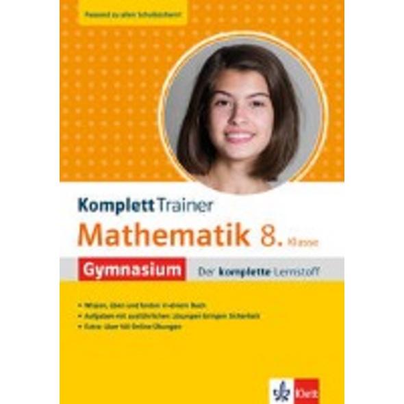 Klett KomplettTrainer Gymnasium Mathematik 8. Klas