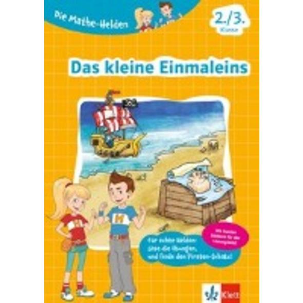 Klett Die Mathe-Helden Das kleine Einmaleins 2. 3.