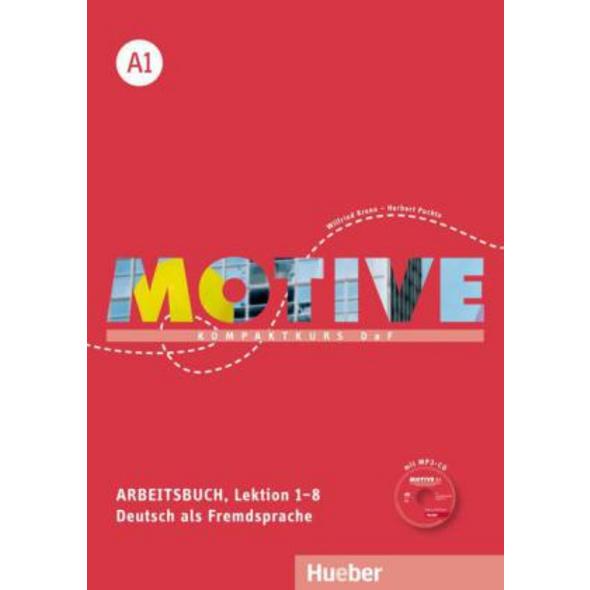 Motive A1. Arbeitsbuch A1. Lektion 1-8 mit MP3-Aud