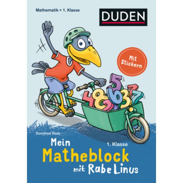 Mein Matheblock mit Rabe Linus - 1. Klasse