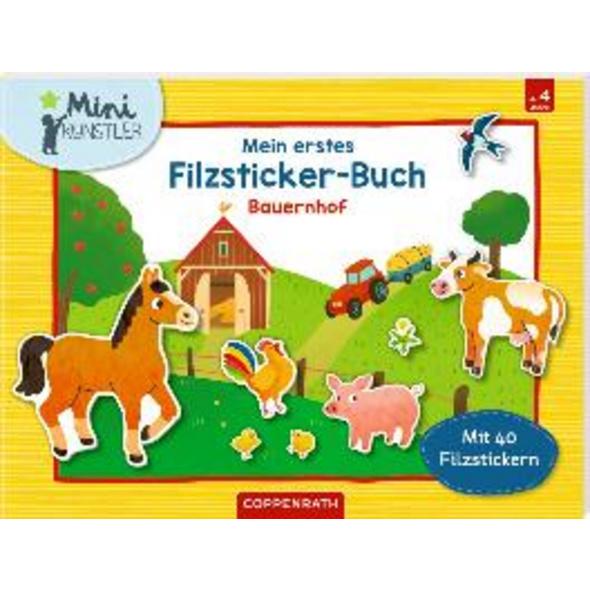 Mein erstes Filzsticker-Buch. Bauernhof