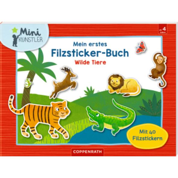 Mein erstes Filzsticker-Buch. Wilde Tiere