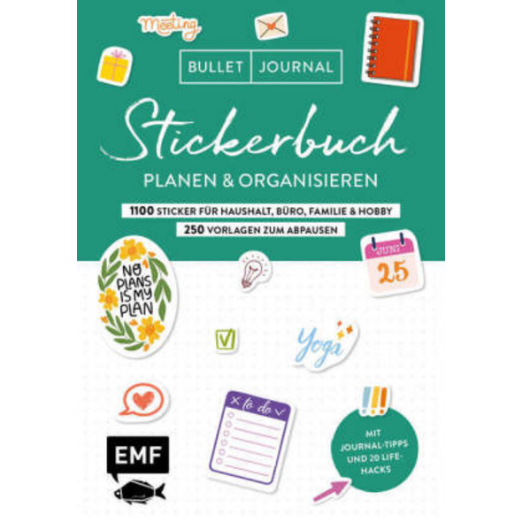 Bullet Journal - Stickerbuch - Planen und organisi