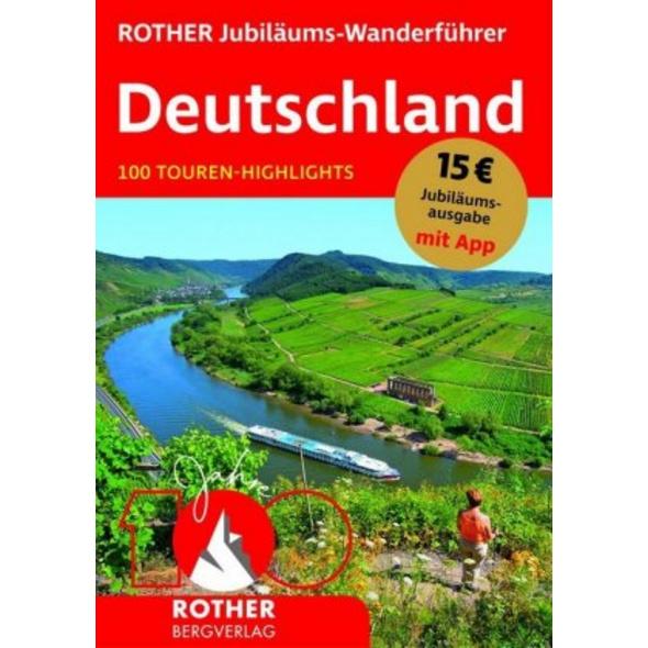 ROTHER Jubiläums-Wanderführer Deutschland