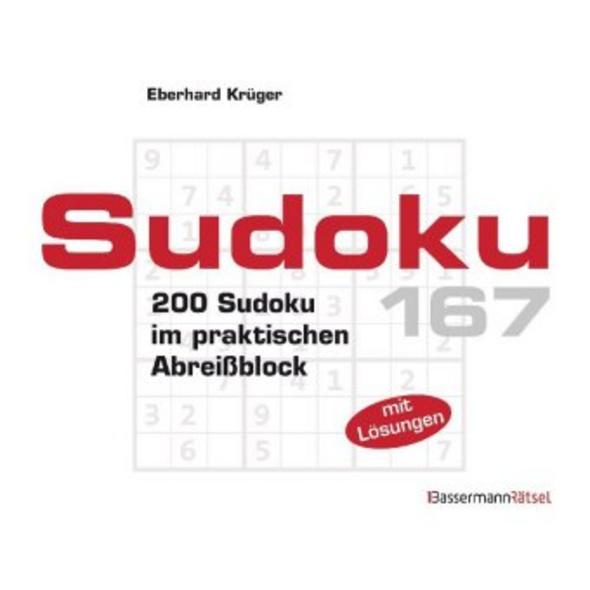 Sudoku. Bd.167