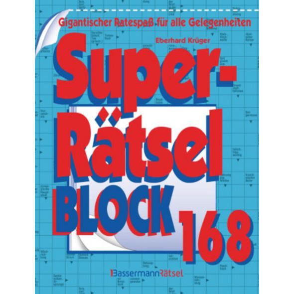 Superrätselblock 168