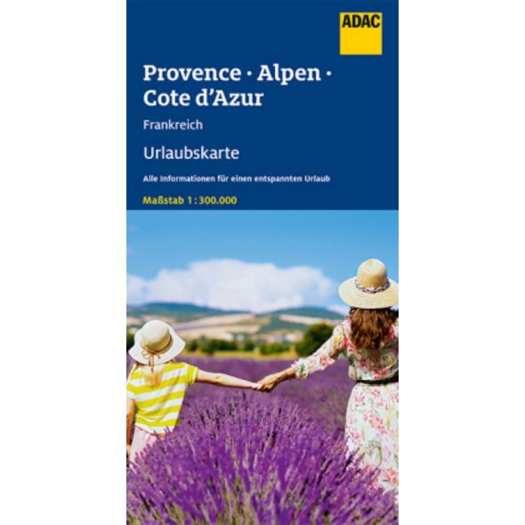 ADAC Urlaubskarte F Provence, Französiche Alpen, C