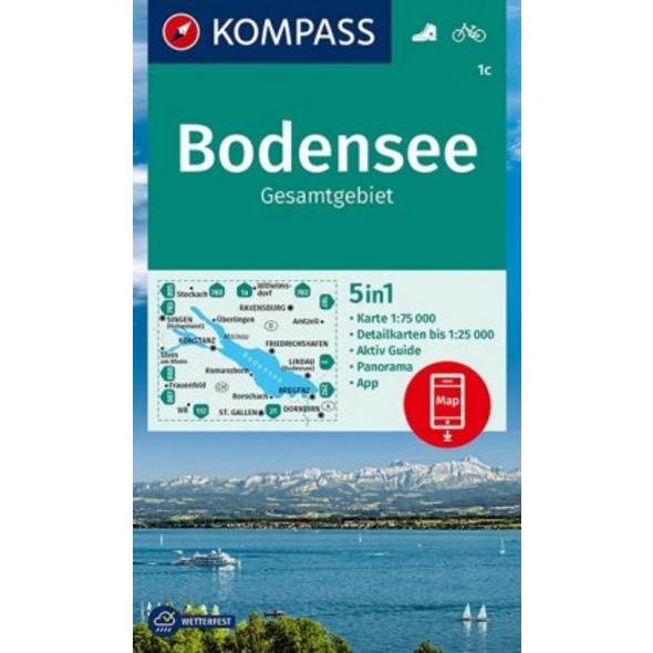 KV WK 1c Bodensee Gesamt 1:75 000