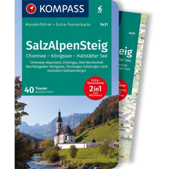 KOMPASS Wanderführer SalzAlpenSteig, Chiemsee, Kön