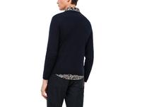 V-Neck-Pullover mit Kaschmir - Feinstrick-Pullover
