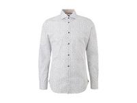 Slim: Hemd mit Allover-Print - Hemd