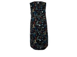 Tunikakleid mit Allovermuster - Popeline-Kleid