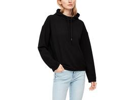 Hoodie mit Wabenstruktur - Sweater