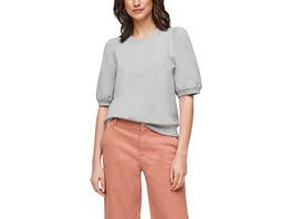 Kurzarm-Sweatshirt mit Puffärmeln - Sweater