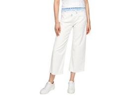 Slim: Culotte mit Paperbag-Bund - Culotte-Jeans