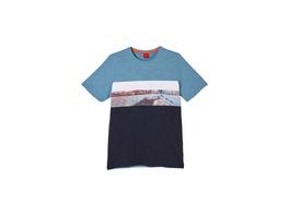 T-Shirt mit Fotoprint - Flammgarn-Shirt