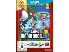 New Super Mario Bros. U + New Super Luigi U (Nintendo Selects)
