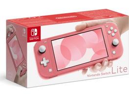 Nintendo Switch Lite Konsole koralle