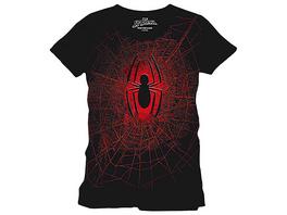 Spider-Man - Spider Web T-Shirt schwarz