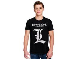 Death Note - L Silhouette T-Shirt schwarz