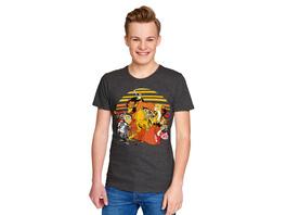 König der Löwen - Good or Evil T-Shirt grau